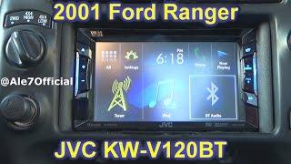 2001 Ford Ranger JVC Double Din DVD/ JVC KW-V120BT Overview