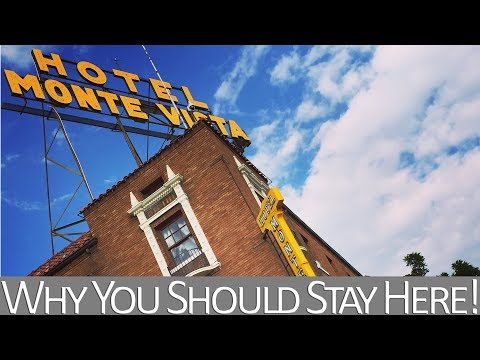 Hotel Monte Vista - Why You Should Stay Here When Visiting Flagstaff, Arizona!!