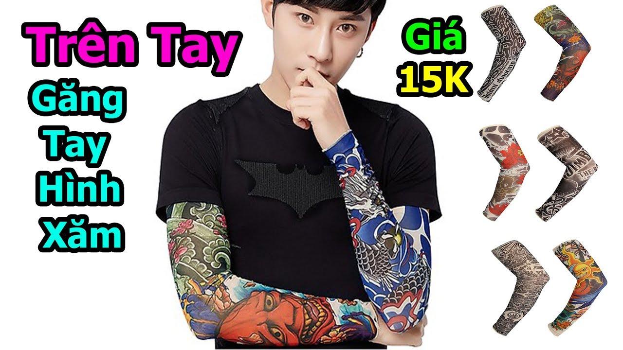 Thử mua găng tay hình xăm giá 15k trên shopee có giống tattoo thật không ?