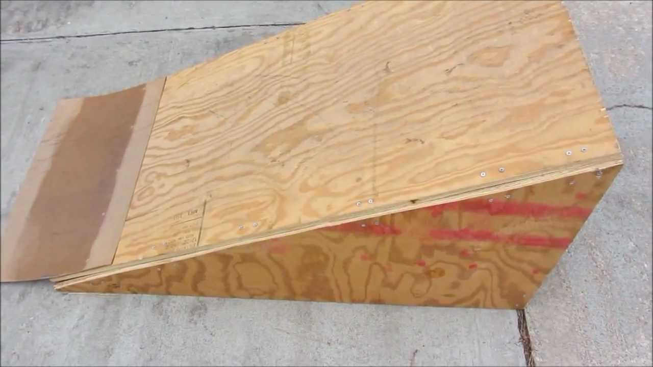How To Build A Skate Ramp Kicker Youtube