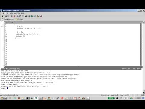 gdb tutorial how to start with GDB