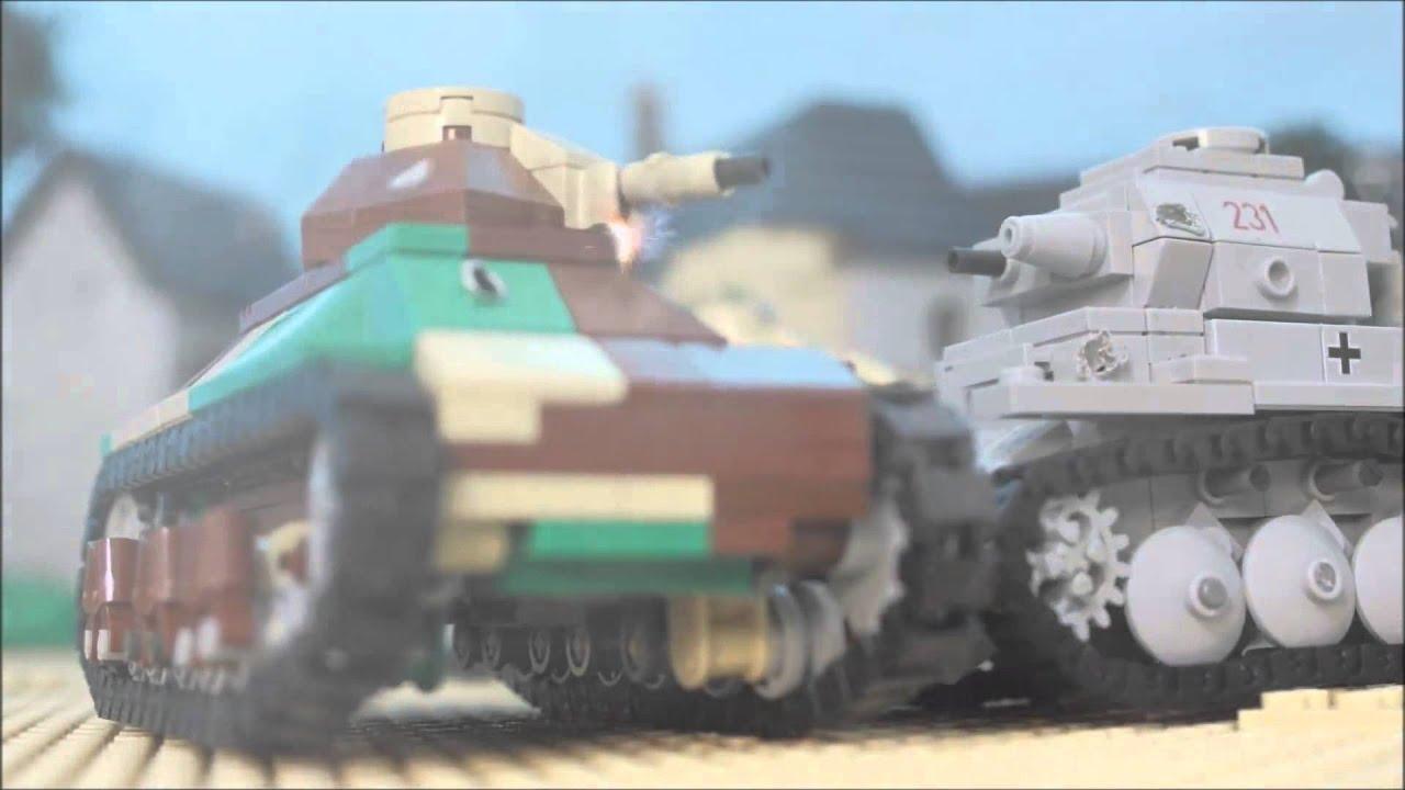 1940 lego world war two second battle of sedan youtube for Siege lego france