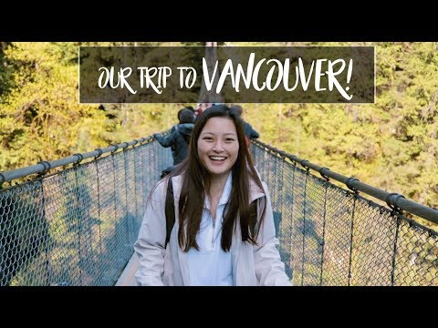 OUR FIRST TRIP TOGETHER  VANCOUVER VLOGFILM