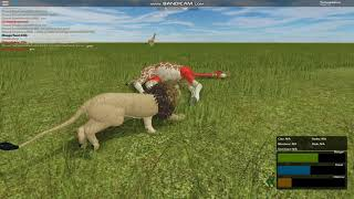Persistence! | Roblox Testing A | Giraffe Hunting (Success!)
