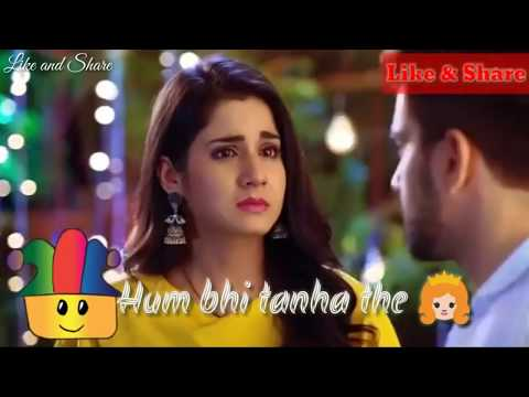 Tum bhi tanha the hum bhi tanha the // whatsapp lyrics status video//