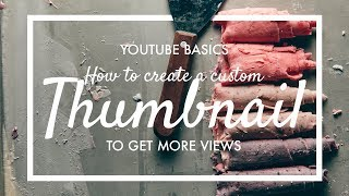 3 easy + quick ways to make a Thumbnail | Phone, Online & Photoshop