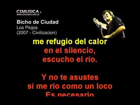 Los Piojos - Bicho De Ciudad - Karaoke