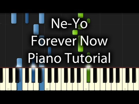 Ne-Yo - Forever Now Tutorial (How To Play On Piano)