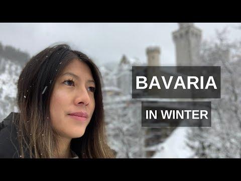 Living In Germany- Bavaria In Winter: Neuschwanstein Castle & Munich