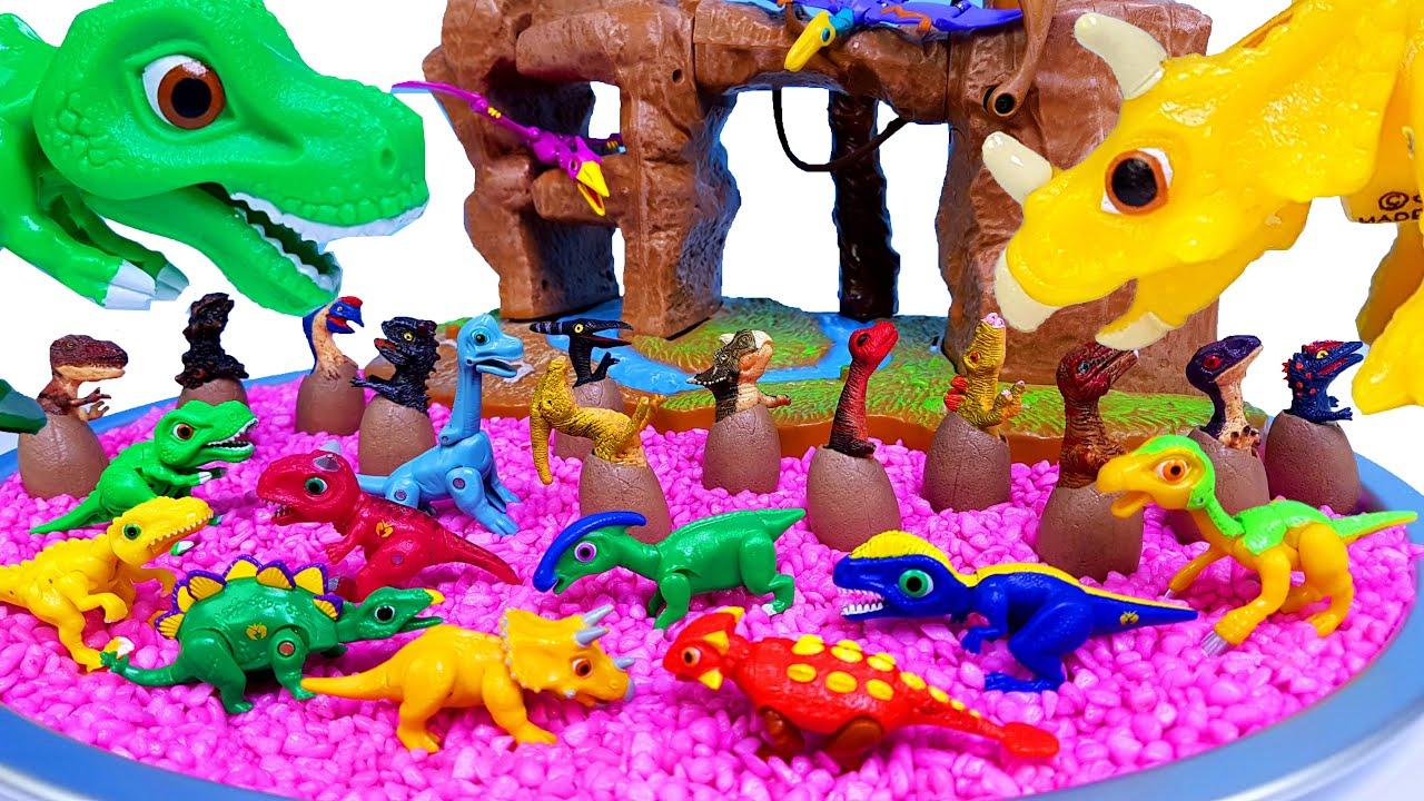 쥬라기월드 공룡 공룡메카드 공룡알 타이니소어 티렉스 스테고사우루스 트리케라톱스 안킬로사우루스 프테라노돈 브라키오사우루스