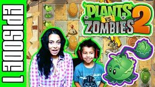 PLANTS VS ZOMBIES 2 - GAMEPLAY WALK THROUGH - JUST THE BEGINNING