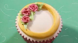 Cerı DD Griffiths Borulu Kek Tekniği | Proje Cupcake Craftsy Pasta Süsleme Gül
