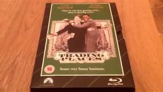 UNboxing Trading places Blu Ray/DVD (HMV exclusive)