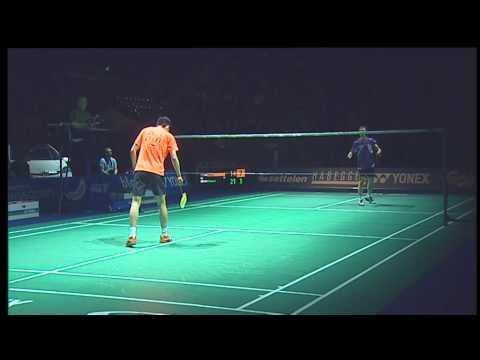 swiss open badminton 2012 Final Jin Chen vs Hyun Il Lee Swiss Open Badminton 2012