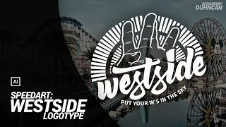 Speedart: Westside Logotype
