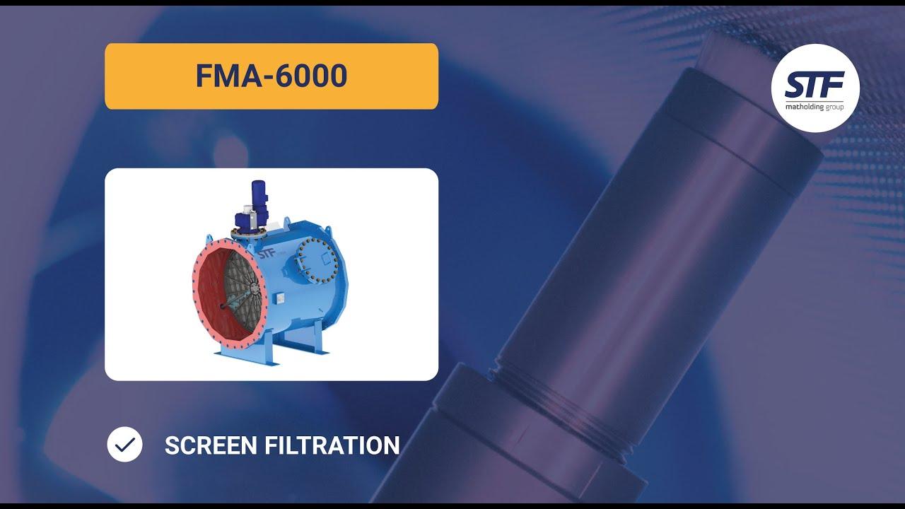 Filtro de malla autolimpiante fma 6000 stf filtros - Filtro de malla ...