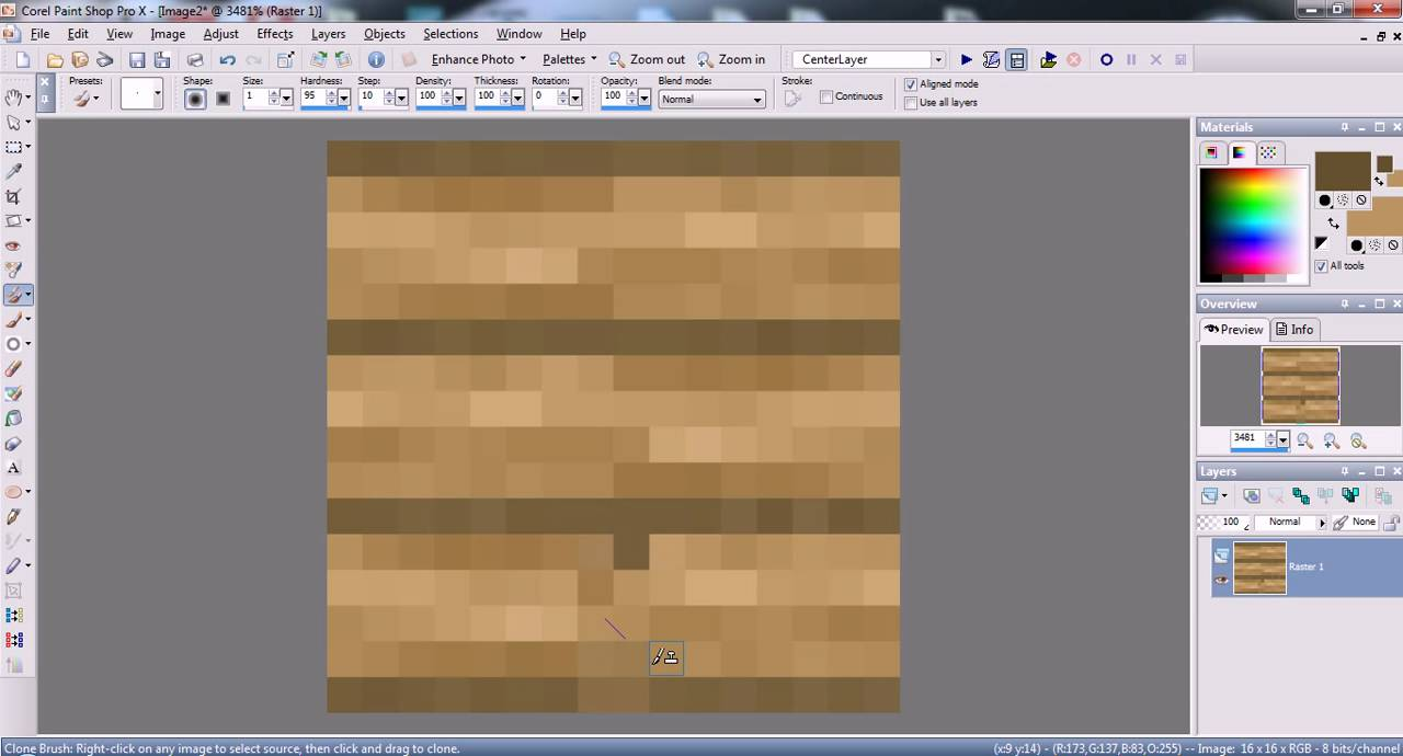 Hunniebee Makes a MINECRAFT Texture Pack! Part 4: Planks ...