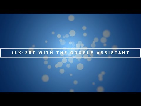 Alpine   CES 2018   The Google Assistant on the iLX-207