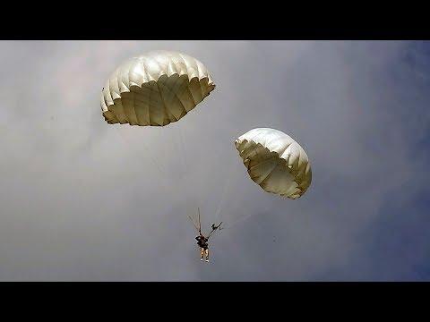 ОСОБЫЕ СЛУЧАИ (при прыжках с парашютами Д-6)
