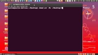 how to chmod Recursively in linux