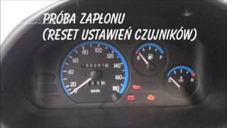 Daewoo Matiz reset ustawień komputera w 90* sekund  hard reset