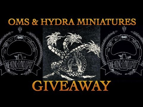 OMS & Hydra Miniatures Giveaway Warhammer 40K