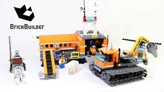 Lego City 60036 Arctic Base Camp - Lego Speed Build
