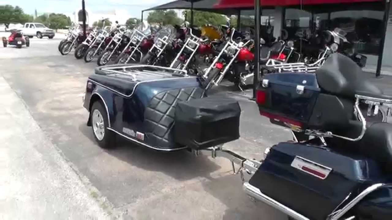 623124 2012 Harley Davidson Ultra Limited W Trailer Used Motorcycle For Sale Youtube