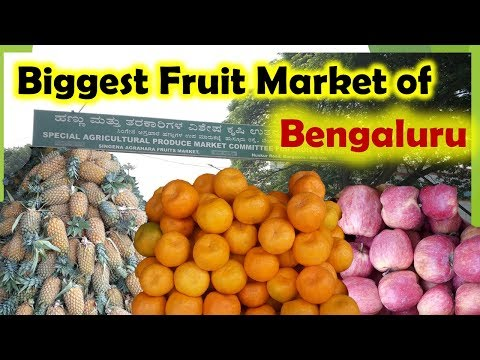Biggest Fruit Market In Bengaluru