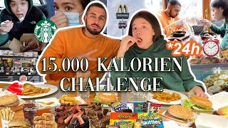 15.000 Kalorien Challenge in 24h 🥵(get ready for foodp**n) -Adorable CAro