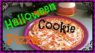 What's For Dessert? Episode 2: Halloween Cookie Pizza
