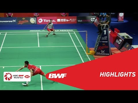 DANISA DENMARK OPEN 2018 | Badminton MS - F - Highlights | BWF 2018