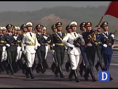 Chinese Army in 23rd March Parade