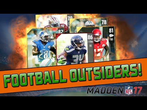 Does Football Outsiders Suck This Year? | Madden 17 Ultimate Team - Pro Pack Opening
