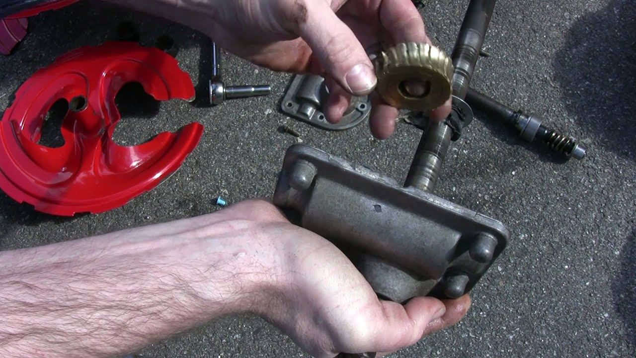 Troy Bilt Mtd Storm 2620 Snowblower Auger Gear Repair