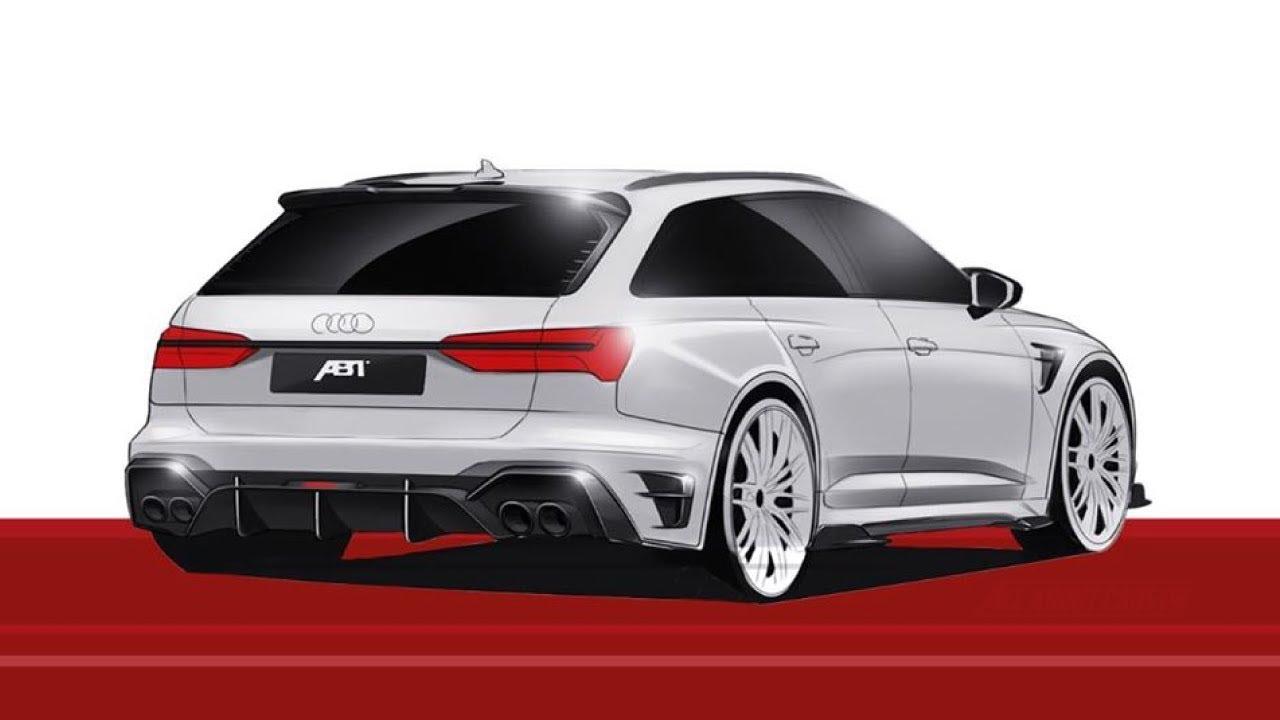 2021 Audi RS6 Avant Looks Menacing With ABT RS6-R ...
