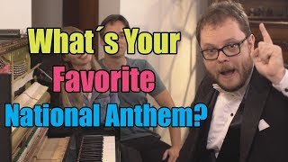 9 National Anthems On Piano