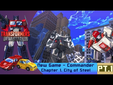 [Transformers Devastation] NG Commander Pt. 1 | The Greatest Megatron Fight In History