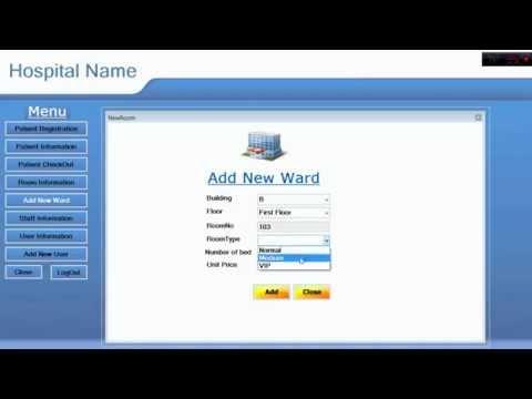 Hospital Management System - YouTube