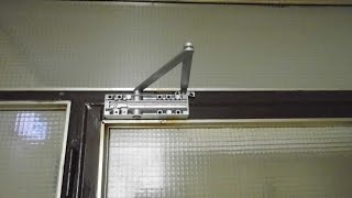 How to Install Door Closer GEZE TS 2000 video 900