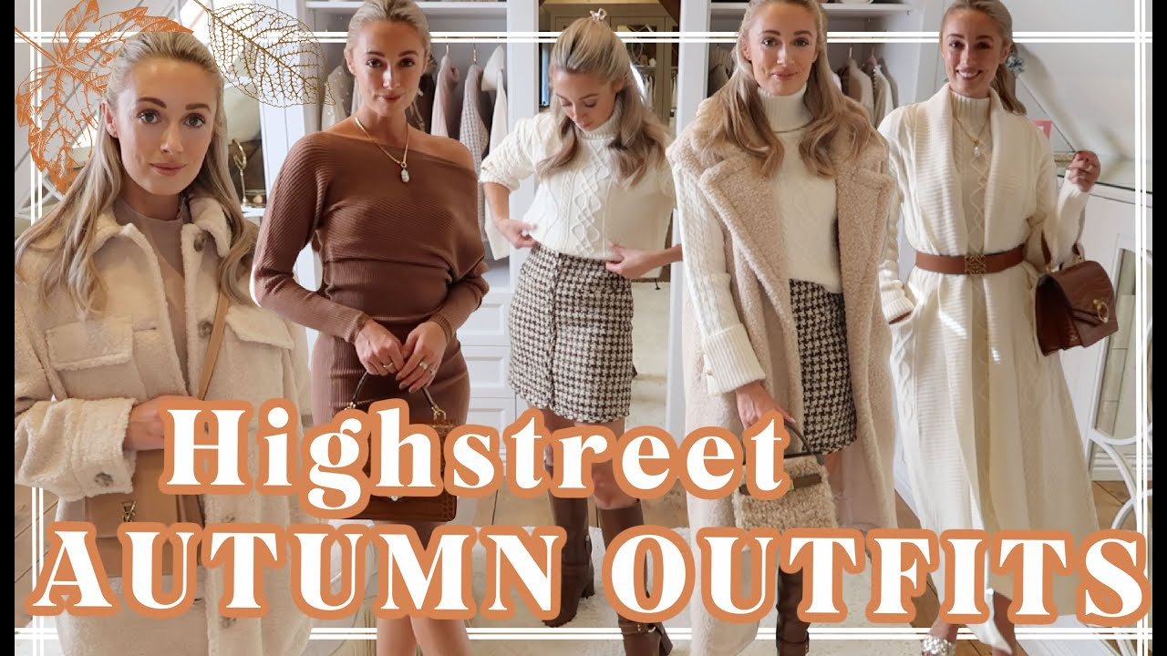 7 NEW AUTUMN OUTFITS * AFFORDABLE * // Highstreet Haul // Fashion Mumblr