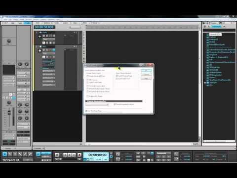 Sonar X1 MIDI for Beginners