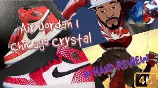 "IN HAND LOOK! Air Jordan 1 Origin Story - AKA ""Chicago Crystals"" AKA ""Spider-Man 1's"""
