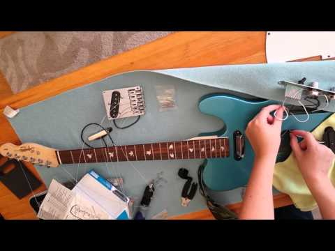 Squier Affinity Telecaster Lake Placid Blue - Mod Part 1/2