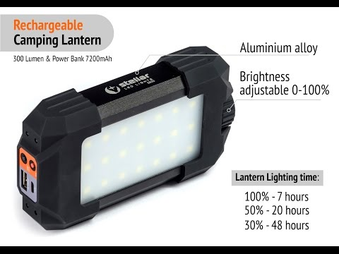Stellar 3500 LED Lantern & Power Bank