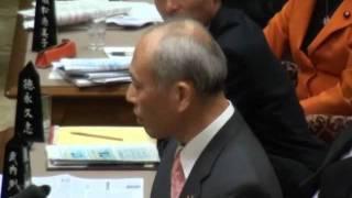 11月11日金参議院予算委員会 TPP集中審議 新党改革ますぞえ代表質問