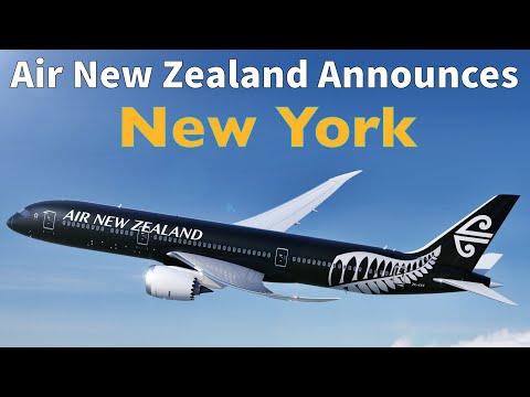Air New Zealand Announces NONSTOP FLIGHTS From Auckland To NEW YORK & Cuts Los Angeles To London