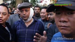 गगनको घरदैलो कार्यक्रममा बम प्रहार, गगन उपचार पछि घर फर्के, १० जना उपचार हुदै|| Gagan Thapa