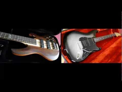 PIRANHA FUNK - Fender Modern Player Stratocaster HSS Boss GT-10 VGS Cobra Bass MAGIX MM...