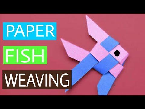 #5 DIY Paper Fish Weaving